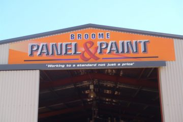 broome panel and paint shed 1
