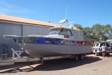 Partial Boat Wrap